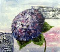 Beate-Fritz-Dekoratives-Pflanzen-Blumen-Gegenwartskunst--Gegenwartskunst-