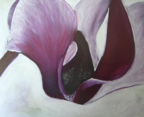 Beate Fritz, Purple 1, Pflanzen: Blumen