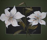 Beate-Fritz-Pflanzen-Blumen-Gegenwartskunst--Gegenwartskunst-
