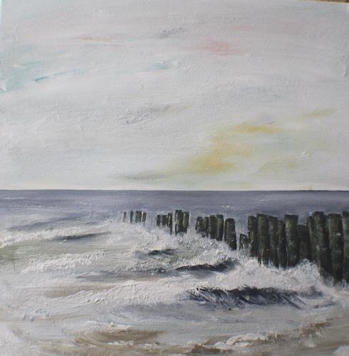 Beate Fritz, Buhnen, Landschaft: See/Meer, Expressionismus