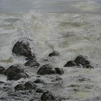 Beate-Fritz-Natur-Gestein-Landschaft-See-Meer-Moderne-Abstrakte-Kunst