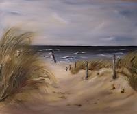 Beate-Fritz-Landschaft-Strand-Landschaft-See-Meer-Gegenwartskunst-Gegenwartskunst