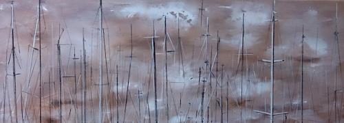 Beate Fritz, Hanse Sail, Verkehr: Schiff, Party/Feier, Gegenwartskunst, Expressionismus