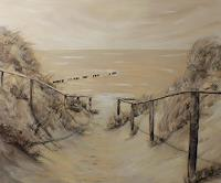 Beate-Fritz-Landschaft-Strand-Natur-Diverse-Gegenwartskunst-Gegenwartskunst
