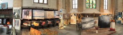 Beate Fritz, Ausstellung Nikolaikirche /Rostock, Diverses