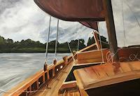 Beate-Fritz-Natur-Wasser-Landschaft-See-Meer-Moderne-Moderne