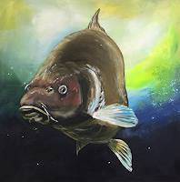 Beate-Fritz-Tiere-Wasser-Diverse-Tiere-Gegenwartskunst-Gegenwartskunst