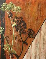 Beate-Fritz-Pflanzen-Diverse-Pflanzen-Moderne-Abstrakte-Kunst