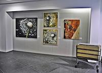 Beate-Fritz-Diverse-Pflanzen-Moderne-Abstrakte-Kunst