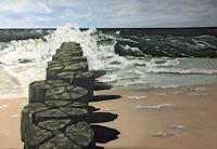 Beate-Fritz-Natur-Wasser-Landschaft-Strand-Gegenwartskunst-Gegenwartskunst