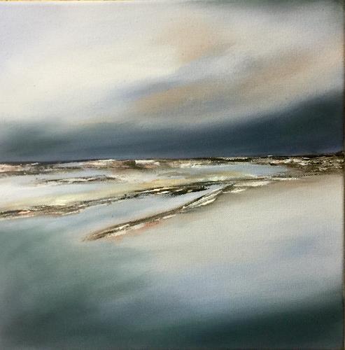 Beate Fritz, Meer- Liebe, Landschaft: See/Meer, Natur: Wasser, Gegenwartskunst, Expressionismus