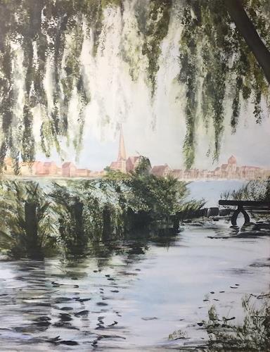 Beate Fritz, Mein Rostock, Diverse Bauten, Bauten: Kirchen, Gegenwartskunst