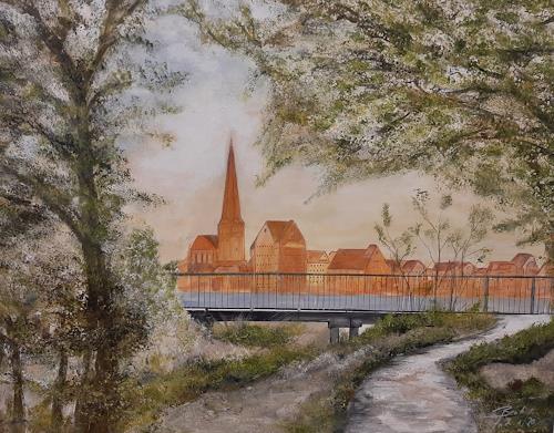 Beate Fritz, Mein Rostock, Architektur, Bauten: Kirchen, Gegenwartskunst