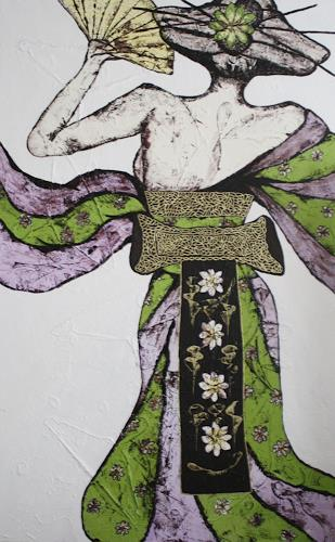 Pamela Gotangco, Omocha, Menschen: Frau, Gegenwartskunst, Expressionismus