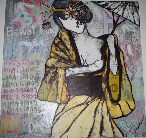 Pamela Gotangco, Waiting, Menschen: Frau, Gegenwartskunst