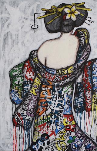 Pamela Gotangco, Number 3, Menschen, Gegenwartskunst