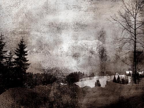 Robert Gärtner, Winter, Österreich, Diverses, Expressionismus