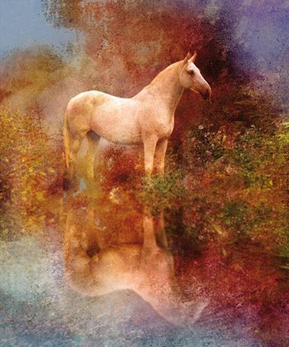 Robert Gärtner, Horse, Diverse Tiere, Expressionismus