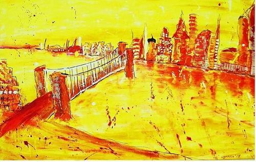 agabea, Die Brücke, Architektur, Natur: Wasser, Abstrakte Kunst