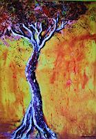 agabea-Landschaft-Herbst-Gefuehle-Trauer-Moderne-Abstrakte-Kunst
