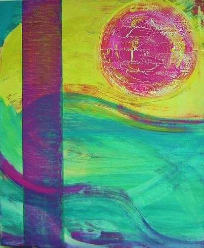 agabea, Meereswellen, Bewegung, Landschaft: See/Meer, Abstrakte Kunst