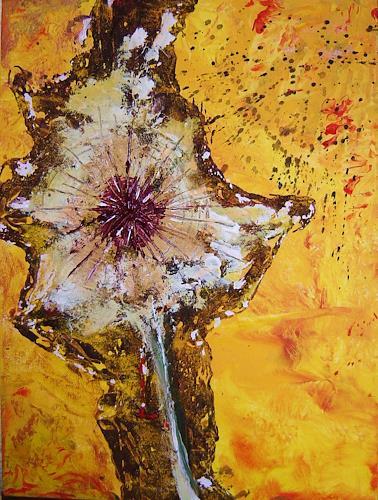 agabea, Pusteblume, Pflanzen: Blumen, Zeiten: Sommer, Abstrakte Kunst