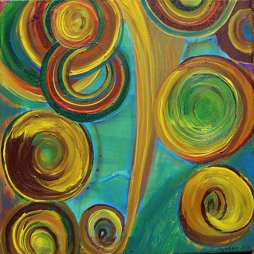 agabea, Der Kreisemacher, Bewegung, Symbol, Abstrakte Kunst