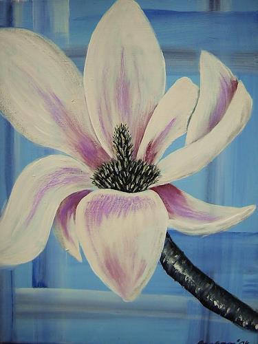 agabea, Magnolie 2, Pflanzen: Blumen, Dekoratives, Art Déco