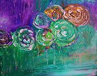 agabea-Pflanzen-Blumen-Abstraktes-Moderne-Abstrakte-Kunst
