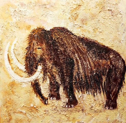 agabea, Mammut, Tiere: Land, Jagd, Konkrete Kunst