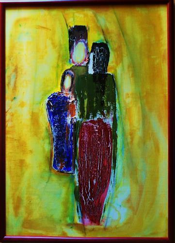 agabea, Die Drei, Menschen: Gruppe, Situationen, Abstrakte Kunst
