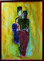 agabea-Menschen-Gruppe-Situationen-Moderne-Abstrakte-Kunst