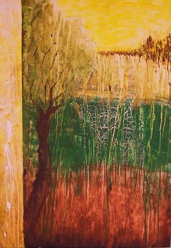agabea, Baum am Waldrand, Abstraktes, Natur: Wald, Abstrakte Kunst