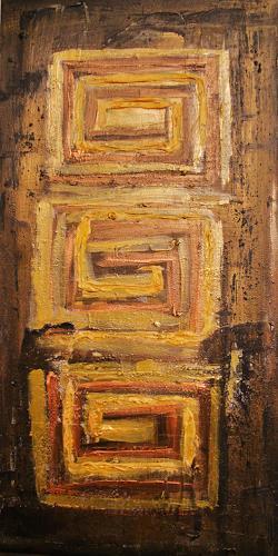 agabea, Feststehenden im Gold, Symbol, Situationen, Abstrakte Kunst