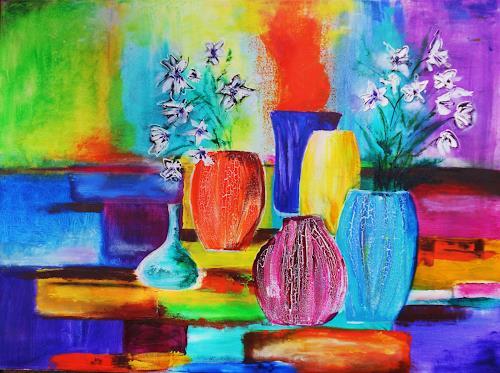 agabea, Stillleben, Pflanzen: Blumen, Dekoratives, Art Déco