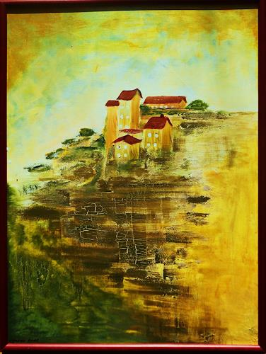 agabea, Am Hügel, Landschaft: Hügel, Wohnen: Dorf, Land-Art