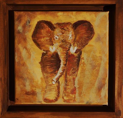 agabea, Elefant, Tiere: Land, Abstraktes, Art Déco