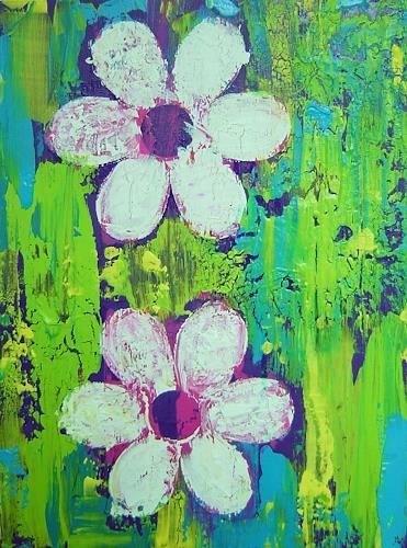 agabea, Blüten, Abstraktes, Pflanzen: Blumen, Abstrakte Kunst