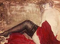 agabea-Akt-Erotik-Akt-Frau-Symbol-Moderne-Abstrakte-Kunst
