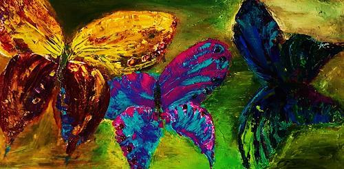 agabea, Schmetterlinge, Tiere: Land, Tiere: Luft, Abstrakte Kunst, Expressionismus