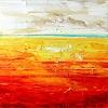 Susanne Zenichowski & Zenic, Horizont in Orange