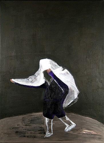 c.mank, Goyas Leak, Technik, Menschen, Neo-Expressionismus, Abstrakter Expressionismus