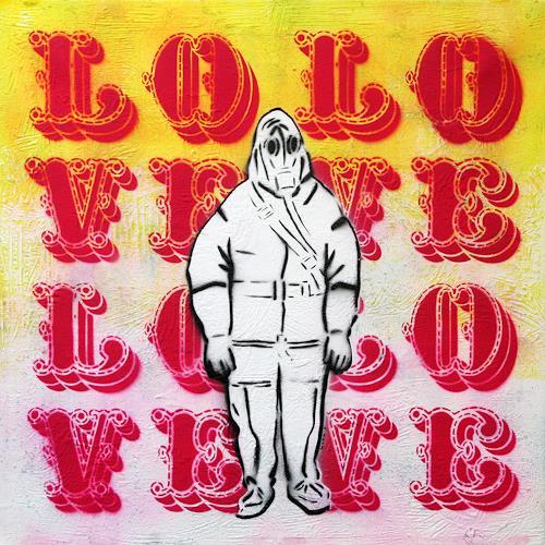 c.mank, Aussenansichten #Love, Diverses, Pop-Art