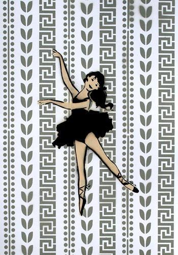 c.mank, Dancer #3 #Grey, Diverses, Pop-Art