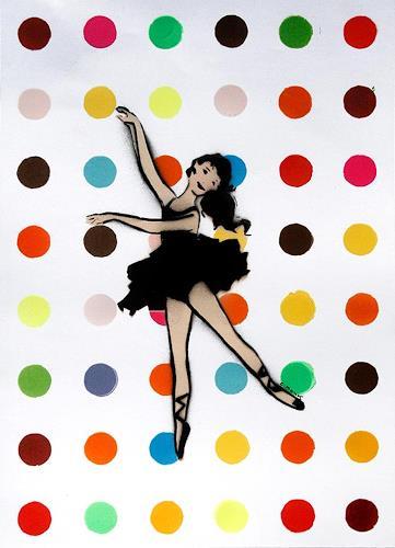 c.mank, Dancer #9, Diverses, Pop-Art