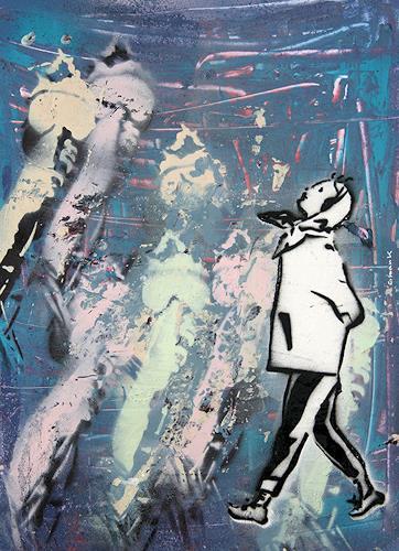 c.mank, Aussichten #18   Views #18, Diverses, Pop-Art, Expressionismus