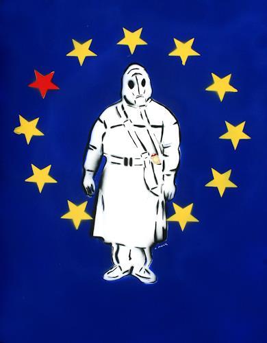 c.mank, Aussenansichten #EU | Exterior Views #EU, Diverse Menschen, Pop-Art