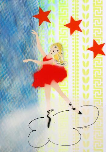 c.mank, Dancer #29 #StorageWorld, Diverse Menschen, Pop-Art