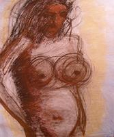 odau-Akt-Erotik-Akt-Frau-Menschen-Frau-Gegenwartskunst--Gegenwartskunst-