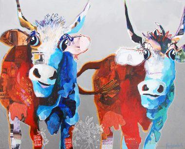 Kunst von Fredi Gertsch